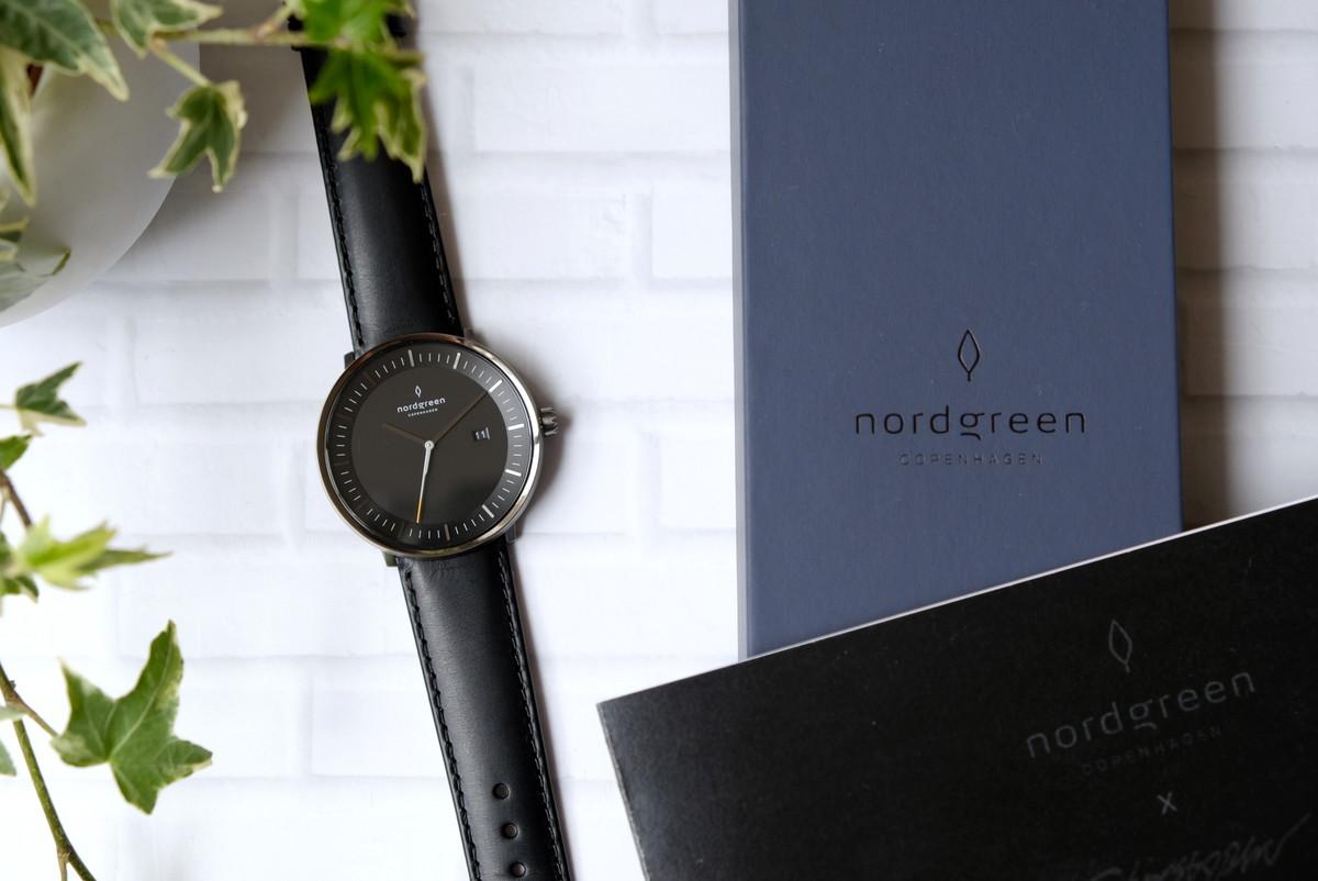 Nordgreen(ノードグリーン)・Philosopher・ブラック・ガンメタル・腕時計③