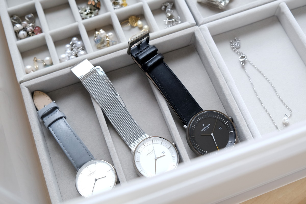 Nordgreen(ノードグリーン)・Philosopher・キャンドゥ・アクセサリートレイB・腕時計収納①