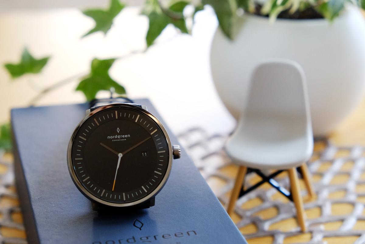 Nordgreen(ノードグリーン)・Philosopher・ブラック・ガンメタル・腕時計⑤