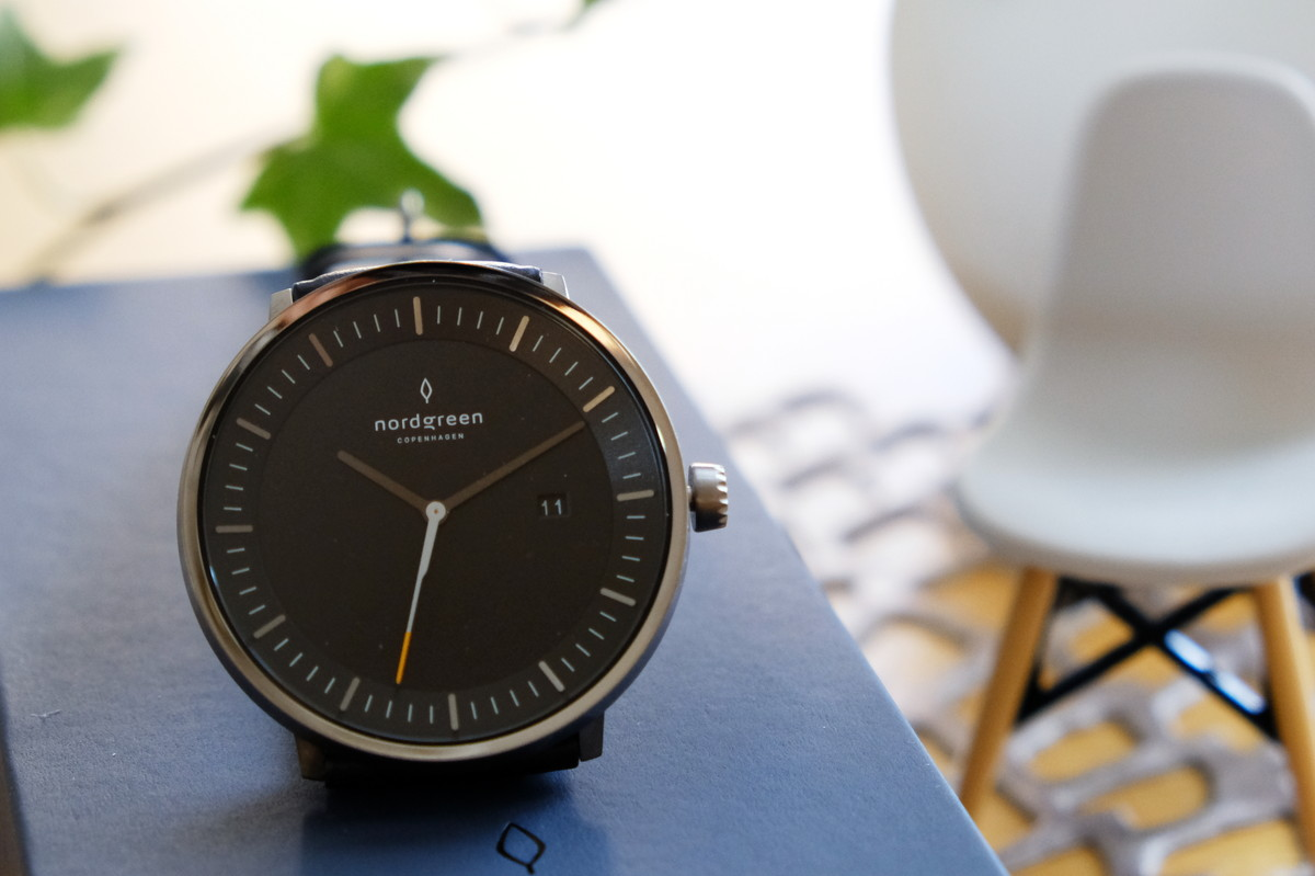 Nordgreen(ノードグリーン)・Philosopher・ブラック・ガンメタル・腕時計①