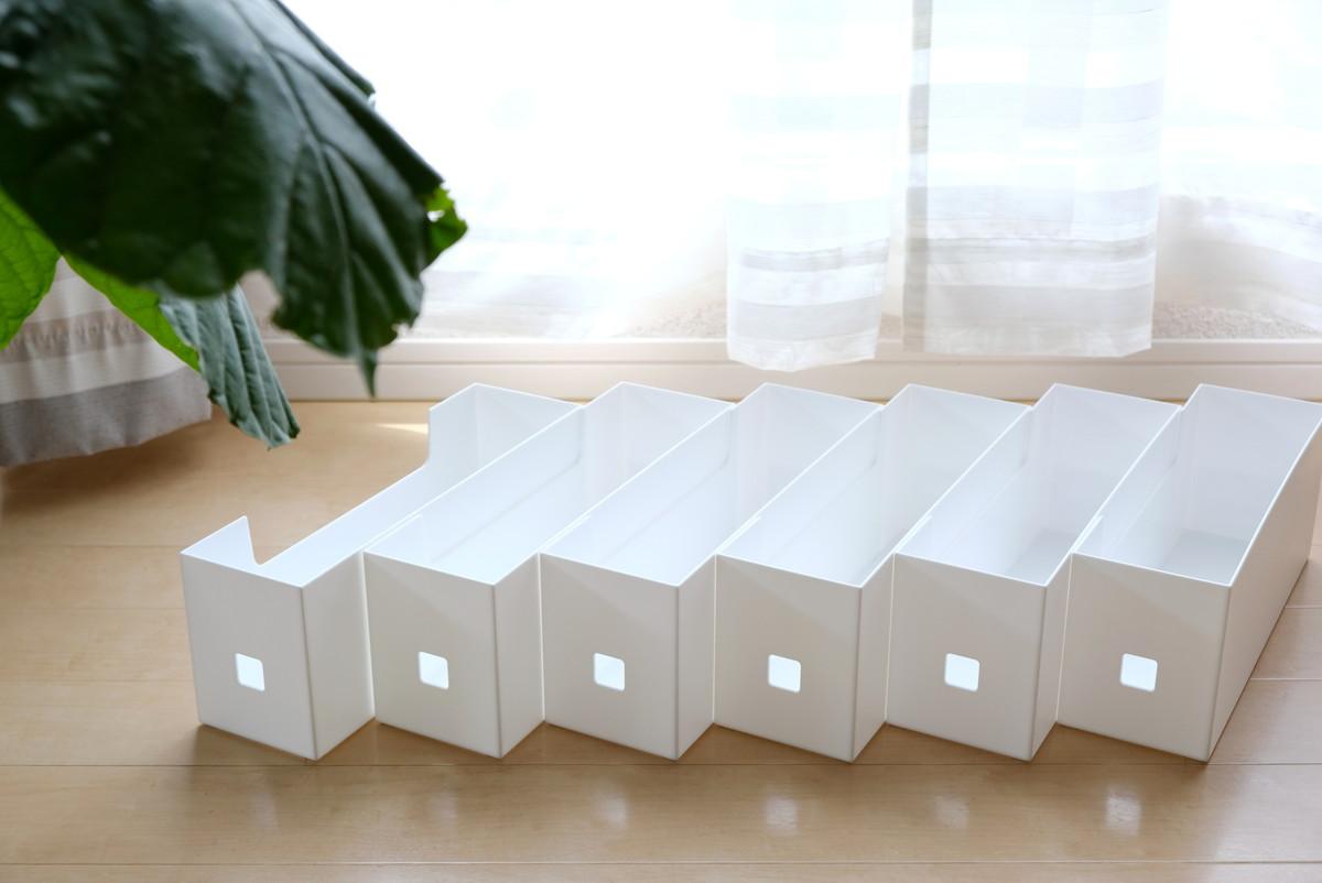 ダイソー・ファイルボックス(ハーフ)④