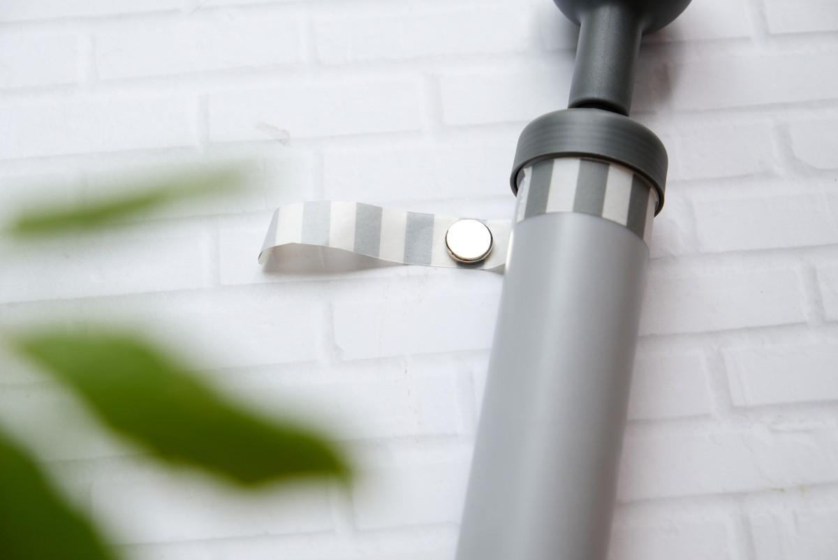 ダイソー・ペチャンコポンプ・マグネット・IKEA・フルフォーリャ テープ,①