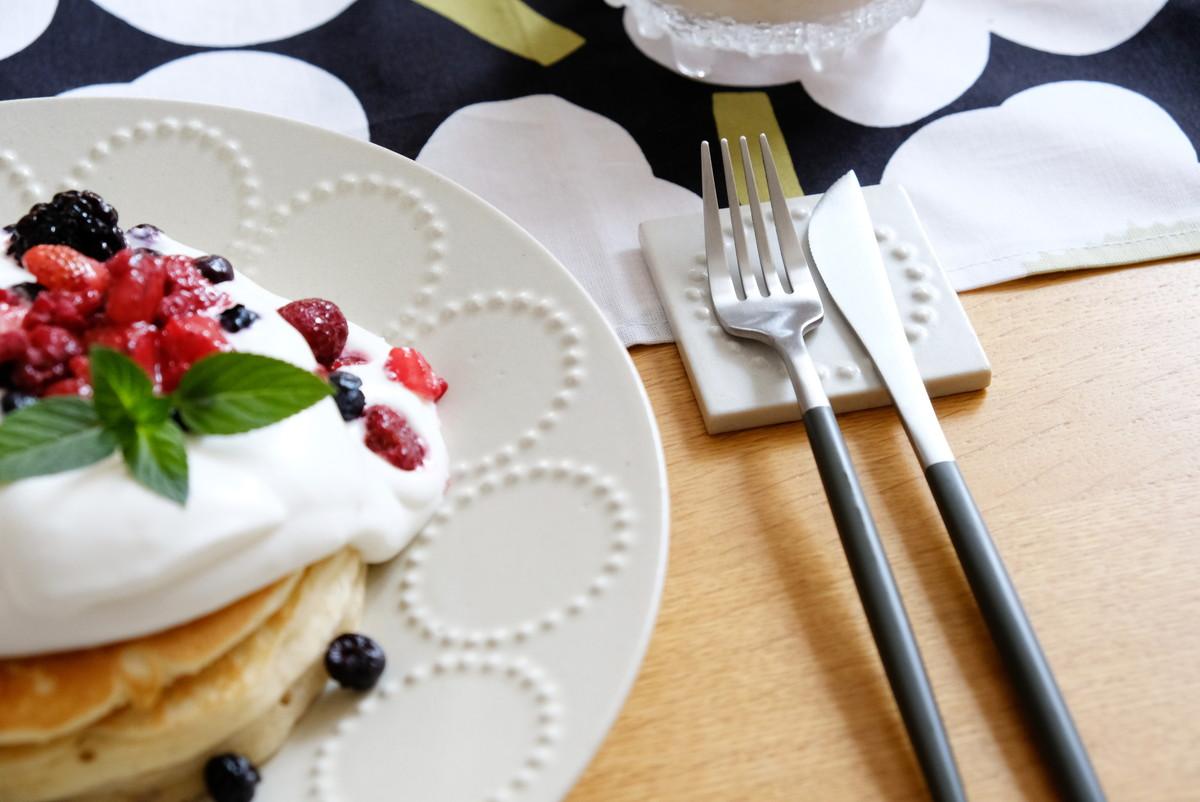 3COINS・クチポール風カトラリー・業務スーパーパンケーキ②