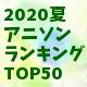 2020夏ランキングミニ