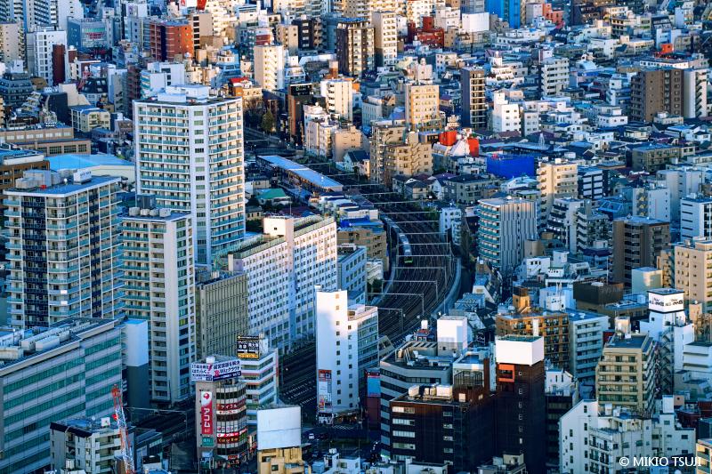 絶景探しの旅 - 絶景写真No.1615 ブロックでできた街 (東京都 豊島区)
