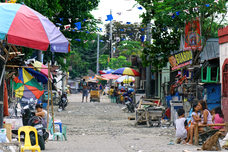 絶景探しの旅 - 絶景写真No.1668 サイドストリート (フィリピン セブ島)