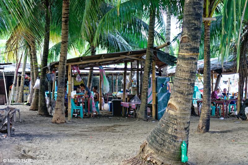 絶景探しの旅 - 絶景写真No.1679 南の島の海の家 (フィリピン セブ島)